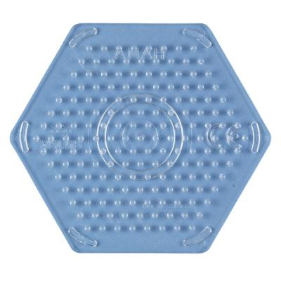 [하마비즈]비즈 투명보드 - 작은육각형