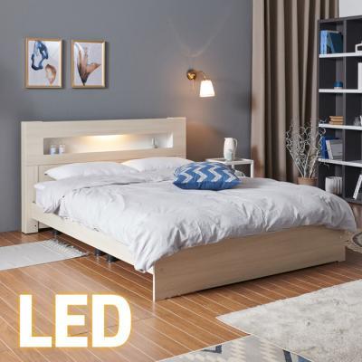 홈쇼핑 LED 침대 Q (양면스프링매트) KC199