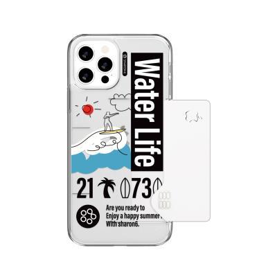 샤론6 아이폰 카드 핸드폰 디자인 케이스 서퍼라이프
