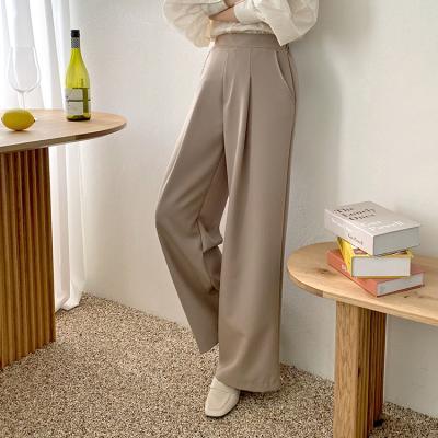 Formal Pintuck Wide Pants