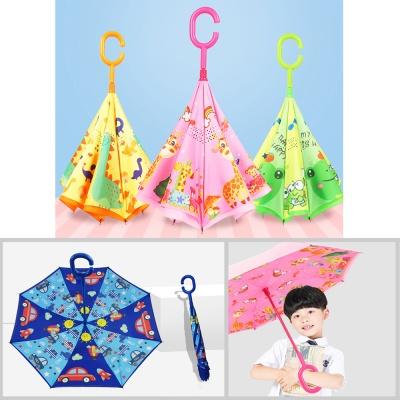귀여운 캐릭터 어린이 거꾸로 우산/아동 유아 장우산