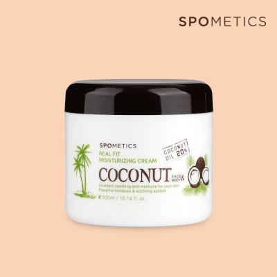 스포메틱스 코코넛 보습크림300ml[코코넛오일20%함유]