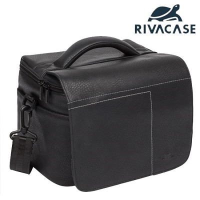 SLR 카메라 가방 RIVACASE 7613 (분리형 패딩 칸막이 / 렌즈 & 스트로보 & 액세서리 수납)