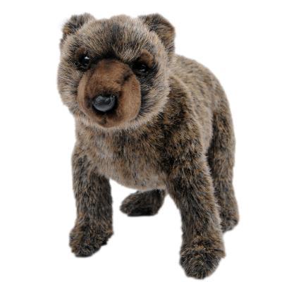 [가격인하] 4277번 곰 Bear Grizzly Cub Standing/38cm.H