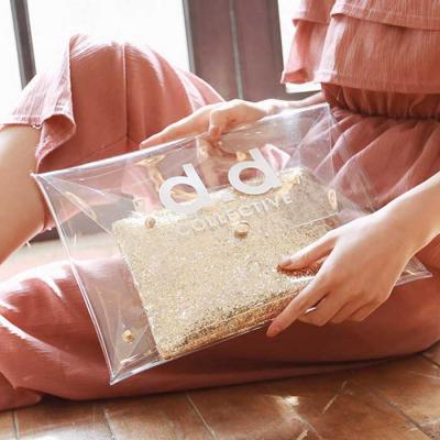 VAG012 투명클러치 여성가방 숄더백 CH1408975