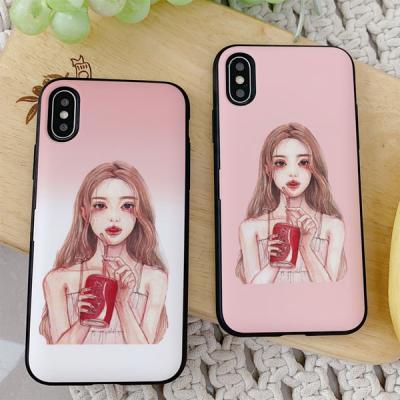 아이폰8플러스 DH 콜라 카드케이스