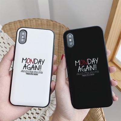 아이폰8 Monday 카드케이스
