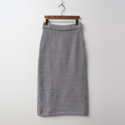 Very Soft Home Knit Long Skirt - 극세사