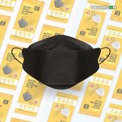 디버거 디버거 국내제조 KF-94 숨코마스크 5매 블랙