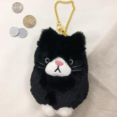 블랙캣 카드 동전 지갑