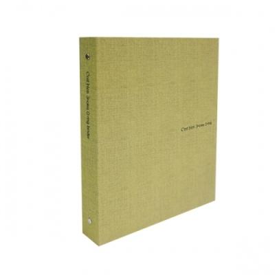 [드림산업] 쎄비엥합지3공O링바인더 연두 [개1] 326952