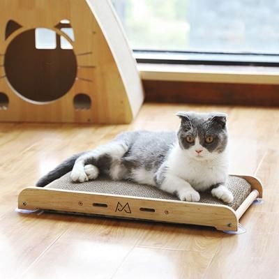 모아모아요 붙이는 수직 고양이 스크래처