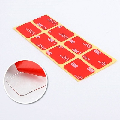 간편한 양면테이프 8개입 X5개 미니 사각 투명 테이프