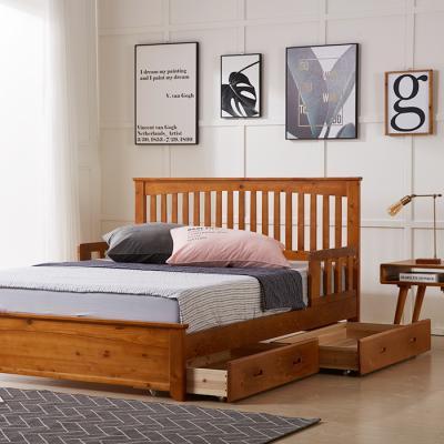 이홈데코 레이지 서랍형 원목 침대프레임(SS)