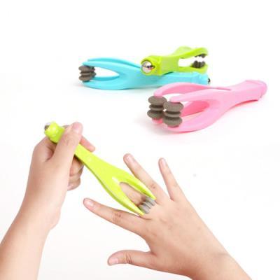 실속형 손가락 마사지기 1개(색상랜덤)