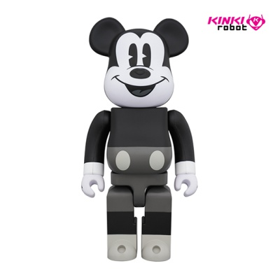 400%BEARBRICK MICKEY MOUSE B&W (1812009)
