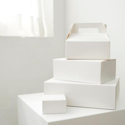 화이트 선물 상자 (극소,소,중,대)