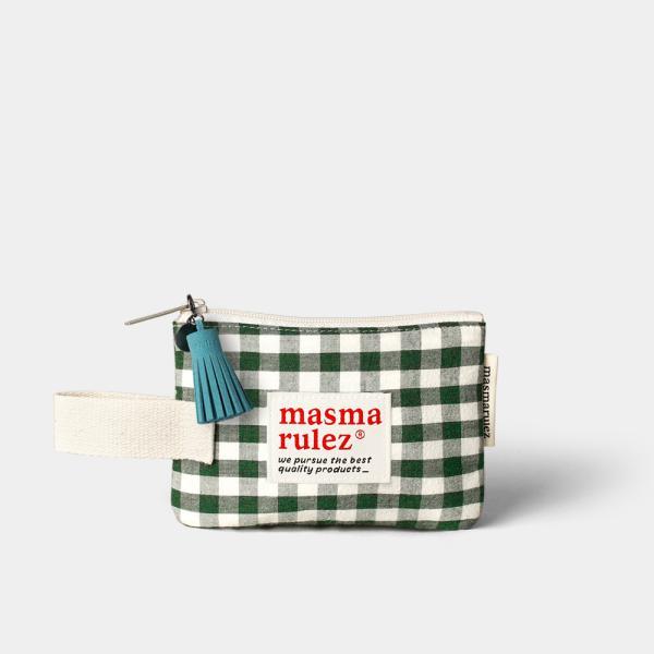 마약 스트랩 파우치 스프링 미니 _ Green