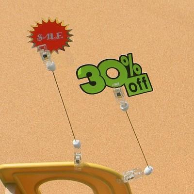 상품 상세설명,가격표시는 POP 카드클립으로-Union PLUS 쇼클립 150철사봉양쪽집게 2개입 2821