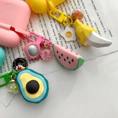 지갑 에어팟 키링 열쇠고리 하드 과일 pr-8126