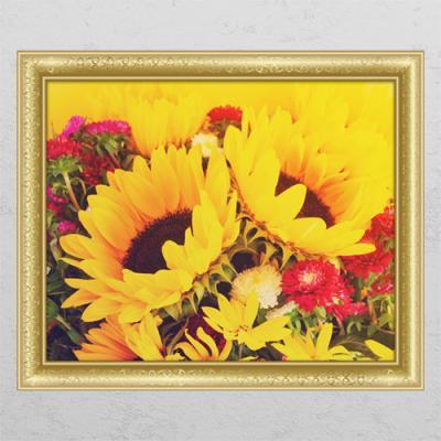 tl094-재물의노란빛해바라기1_창문그림액자