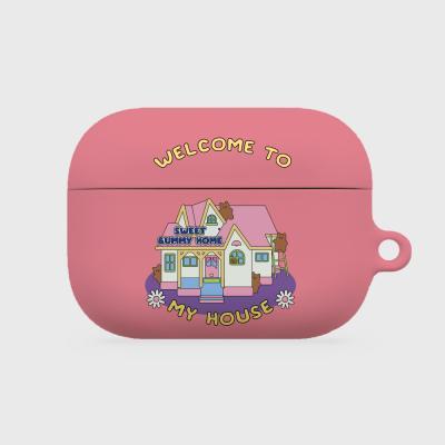 pink house gummy [hard 에어팟프로케이스]
