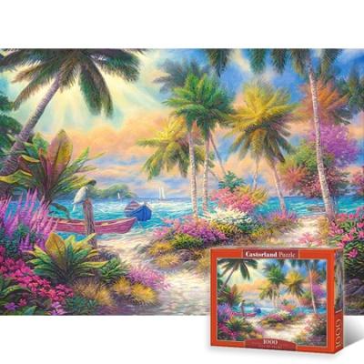 1000조각 직소퍼즐▶ 해안가 낙원 [LD103942]