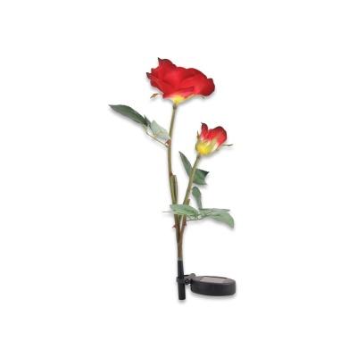 LED 정원등 가든램프 /장미 Red/ 태양광충전 LCSS966