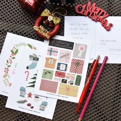 Merry Post Card (크리스마스 엽서 세트)