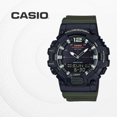 카시오 군인 군용 전자 남성 손목시계 HDC-700-3A