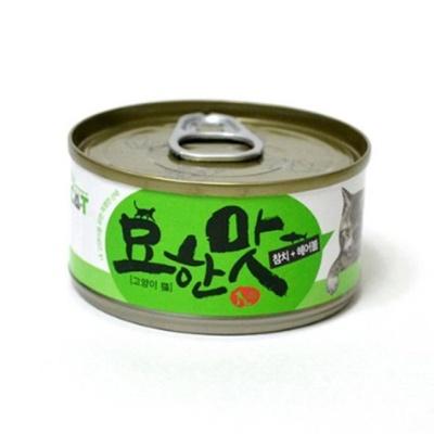 묘한맛 헤어볼 80g 영양간식 고양이간식 반려