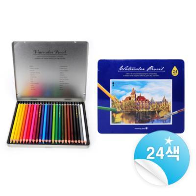 12000 수채색연필 (24색)