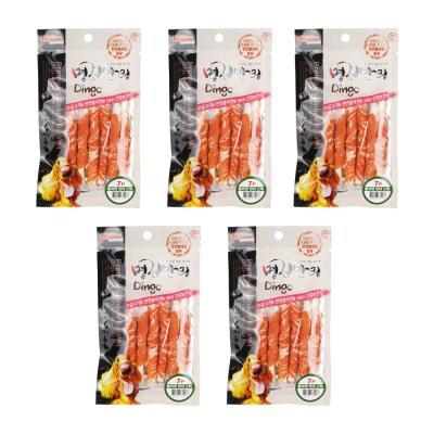 연어트위스트 7P(스틱) 60g x5개 강아지간식