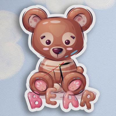 nz569-인테리어벽시계_귀여운아기곰