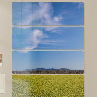nn338-멀티아크릴액자_제주의푸른하늘과유채꽃