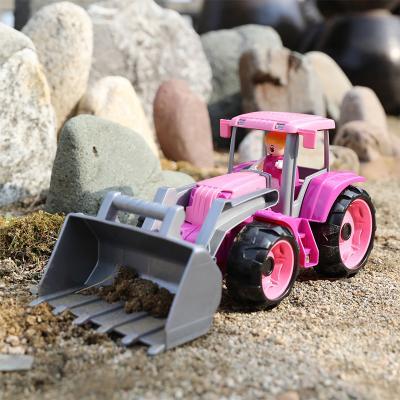 레나 트럭스 중장비 핑크트랙터