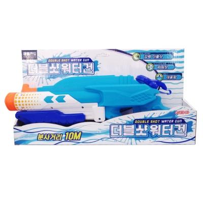 여름 물놀이 물총 파워물총 더블샷워터건 1000ml 10m