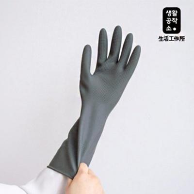 [생활공작소] 라텍스 고무장갑 일반형(33cm) x  5입