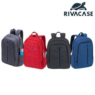 15.6형 노트북 백팩 가방 RIVACASE 7560 (노트북 수납부 패딩 처리 / 태블릿PC & 액세서리 등 수납 / 생활 방수)