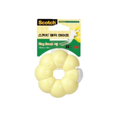 매직테이프(링도넛)-레몬 (3M)(개) 240033
