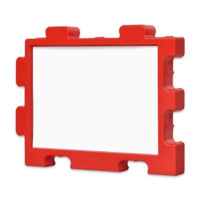 퍼즐액자 10x14.7 고급형 연결액자 레드