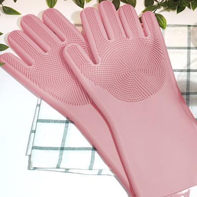 에바 실리콘 장갑(양손) 수세미 멀티 세척장갑