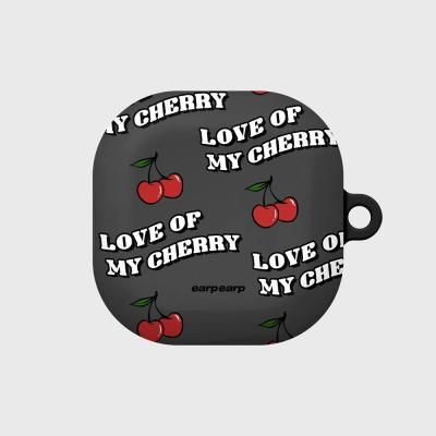 Love cherry-dark gray(buds live hard)