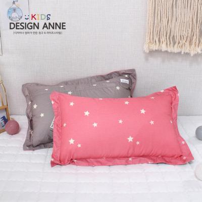 [디자인엔] 알러지케어 스타 아동솜베개-핑크
