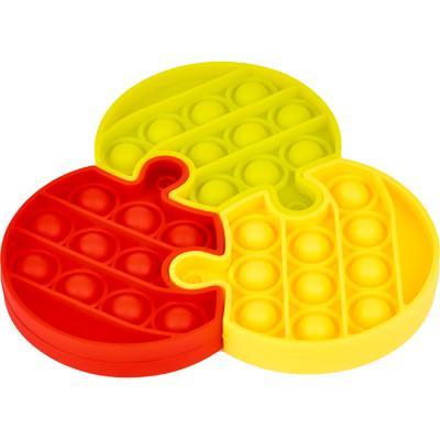 3조각 푸쉬 팝 퍼즐 - 서클