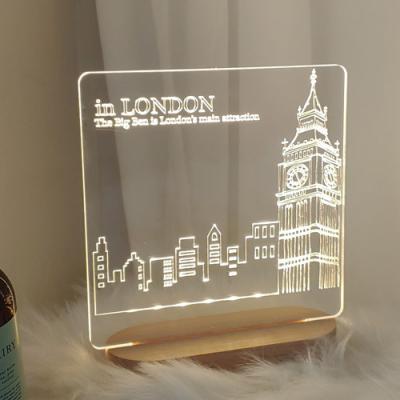 td491-LED사인무드등_런던의빅벤