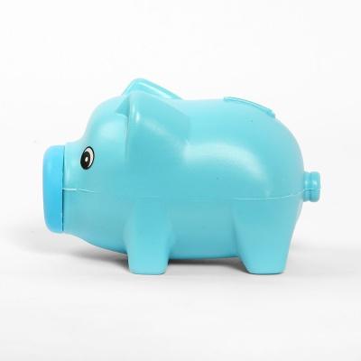 통통 파스텔 돼지 저금통(블루)