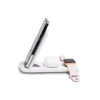 3in1 무선충전기 충전패드/ 스마트워치 이어폰 CY3100
