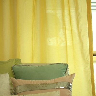 sweet april yellow curtain
