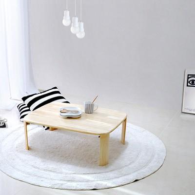[벤트리]원목 접이식 브런치 테이블 大 Size